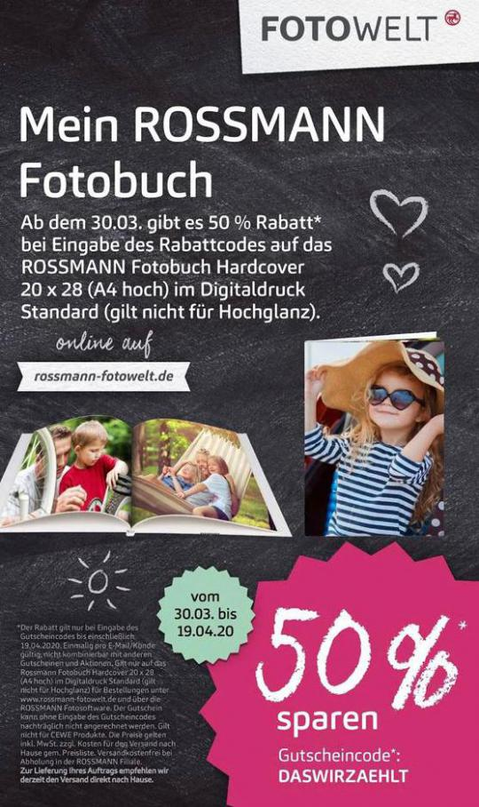 Mein ROSSMANN Fotobuch . Rossmann (2020-04-19-2020-04-19)