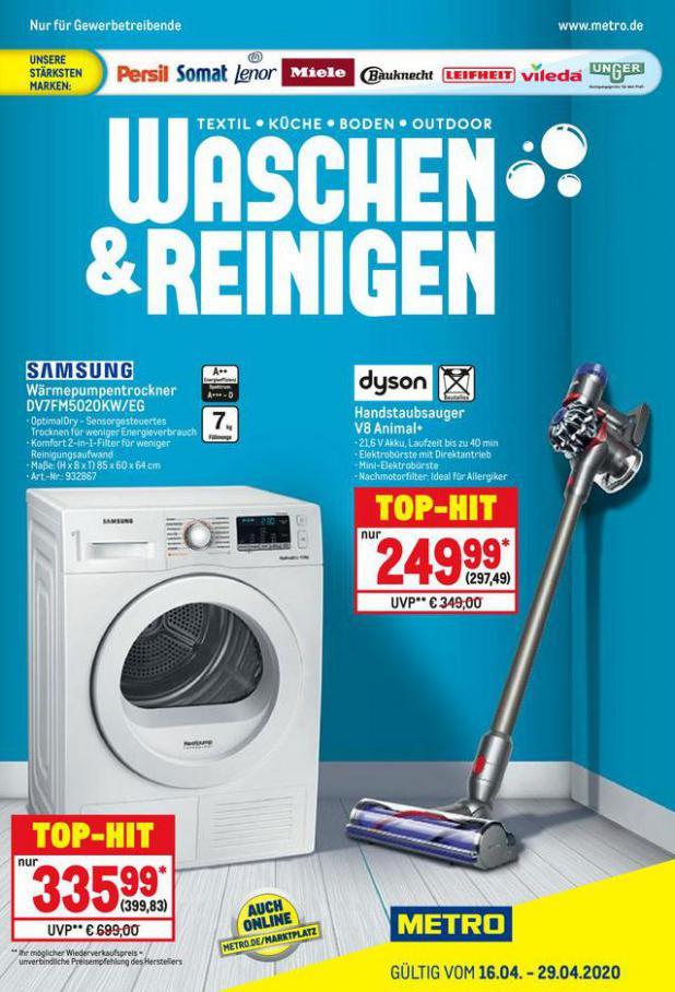Waschen & Reinigen . Metro (2020-04-29-2020-04-29)
