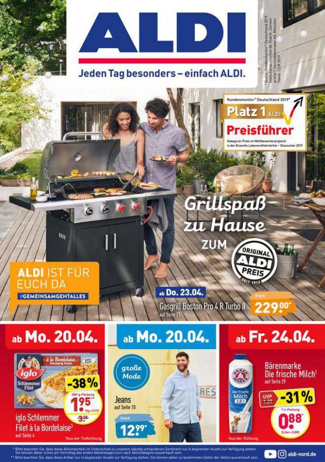 ALDI Vorschau . Aldi Nord (2020-04-25-2020-04-25)