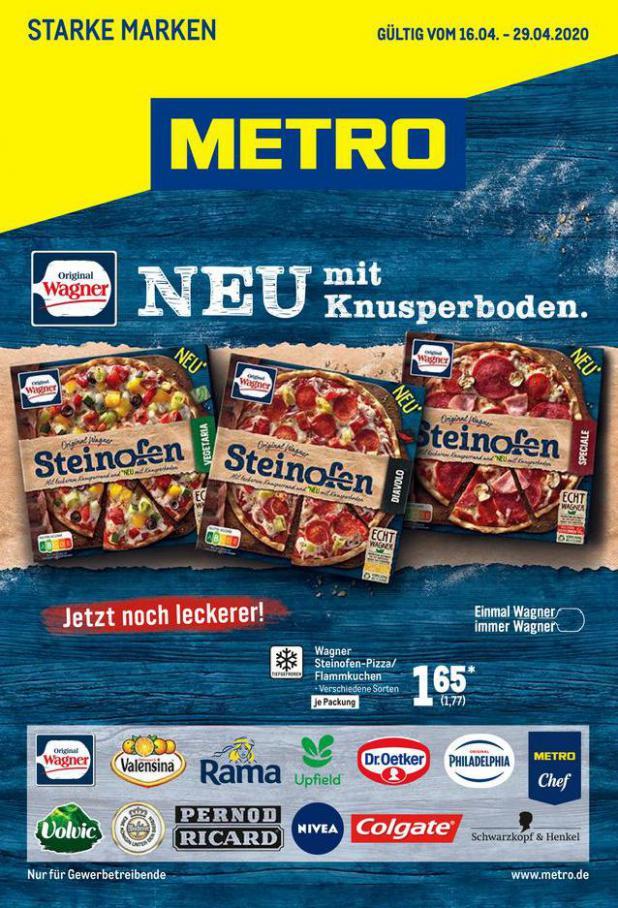 Starke Marken . Metro (2020-04-29-2020-04-29)
