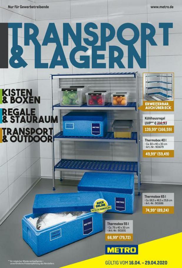 Transport & Lagern . Metro (2020-04-29-2020-04-29)