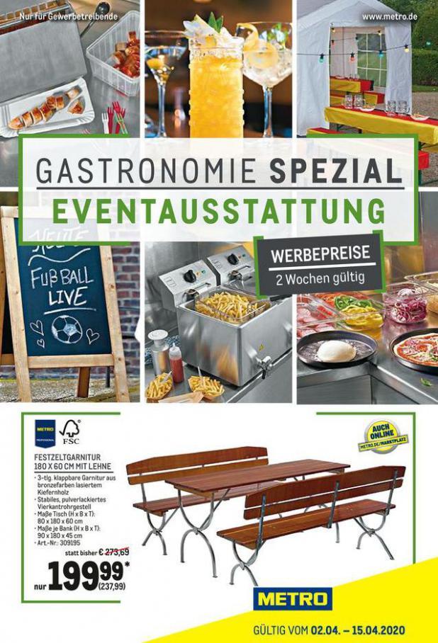 Gastro Spezial . Metro (2020-04-15-2020-04-15)