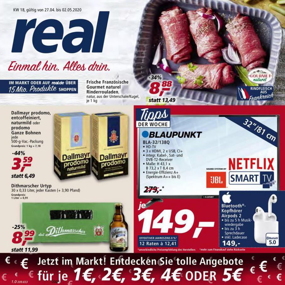 Prospekt Woche 18 . real (2020-05-02-2020-05-02)