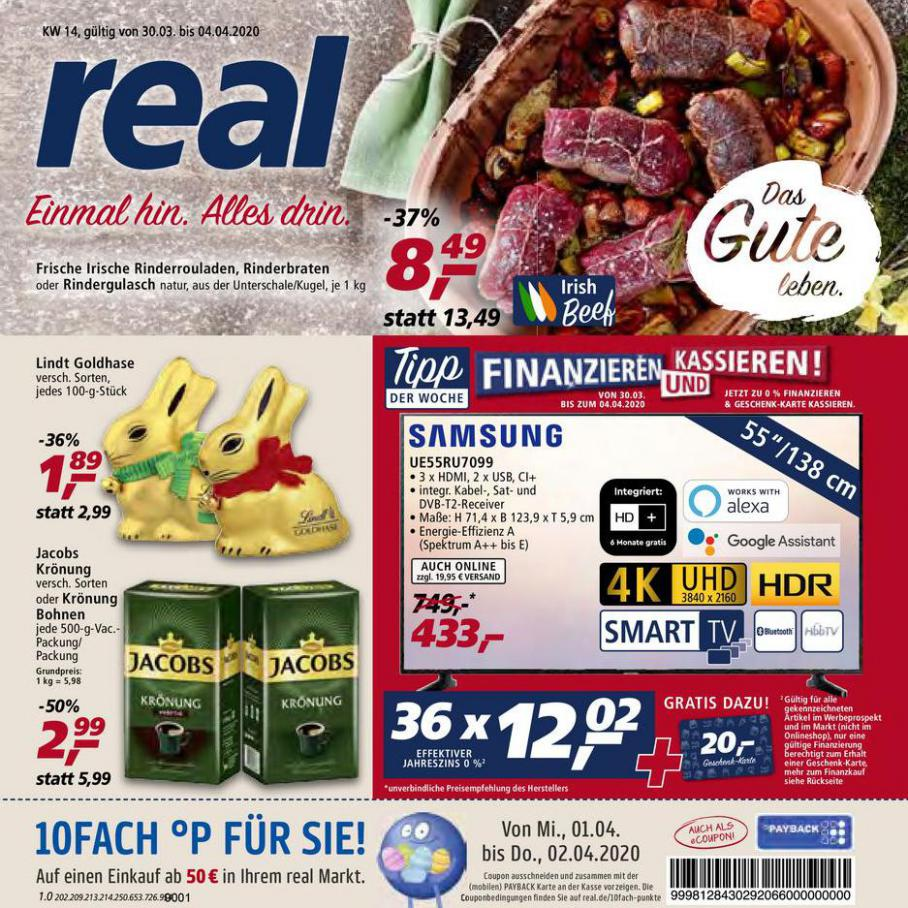 Prospekt Woche 14 . real (2020-04-04-2020-04-04)