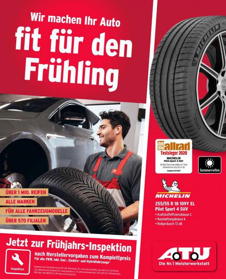 Wir machen Ihr Auto fit für den Frühling . ATU (2020-05-31-2020-05-31)