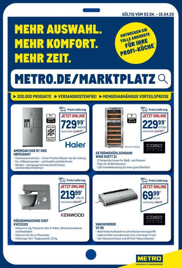 Online-Angebote . Metro (2020-04-15-2020-04-15)