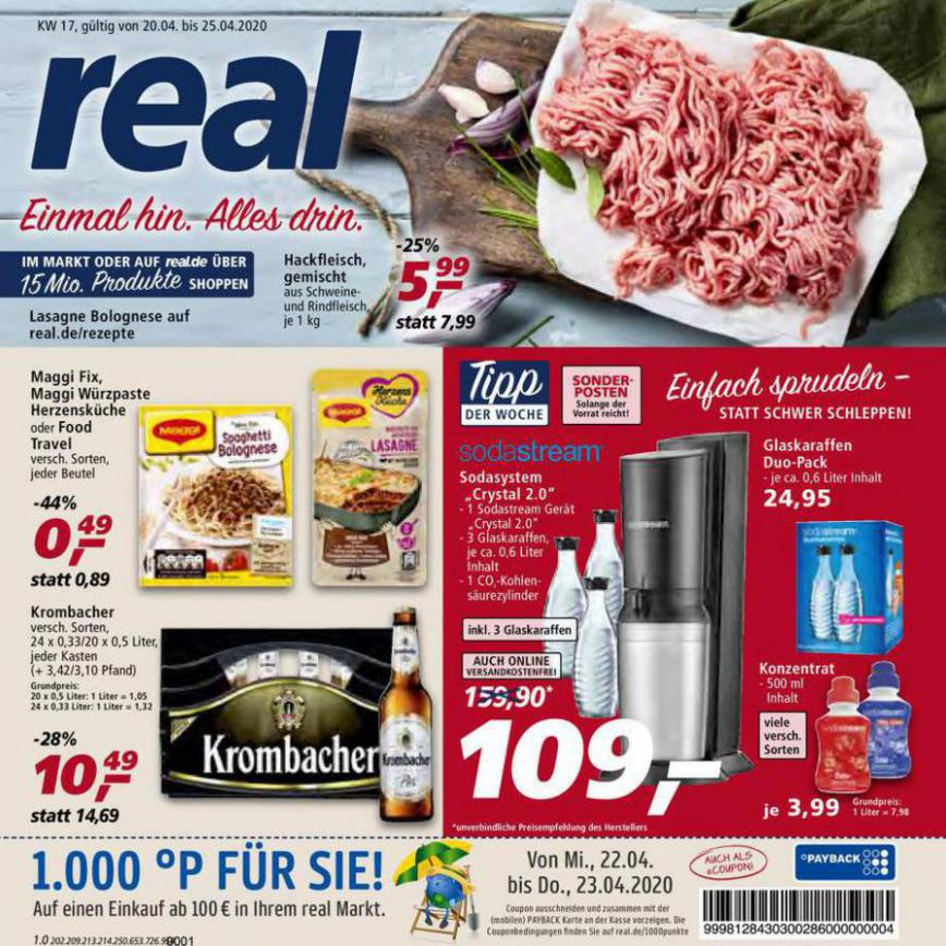 Prospekt Woche 17 . real (2020-04-25-2020-04-25)