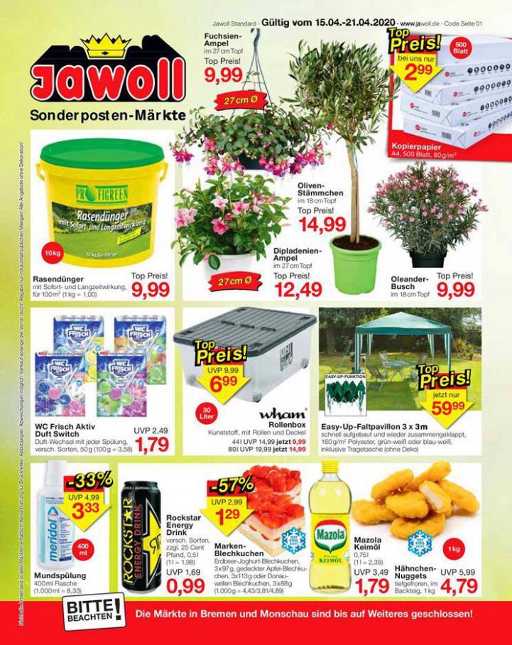 Angebote . Jawoll (2020-04-21-2020-04-21)