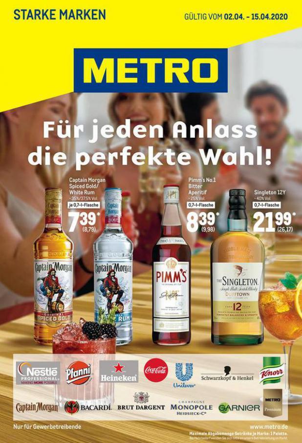 Starke Marken . Metro (2020-04-15-2020-04-15)