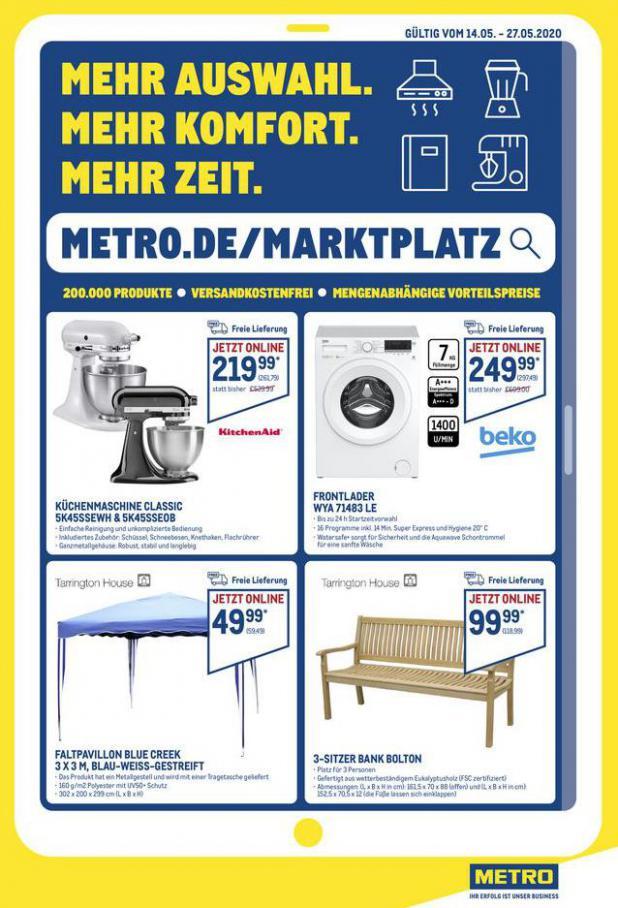 Online-Angebote . Metro (2020-05-27-2020-05-27)