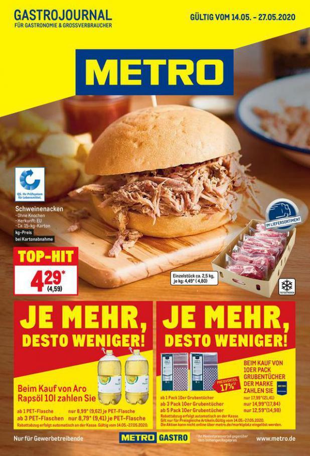 GastroJournal . Metro (2020-05-27-2020-05-27)
