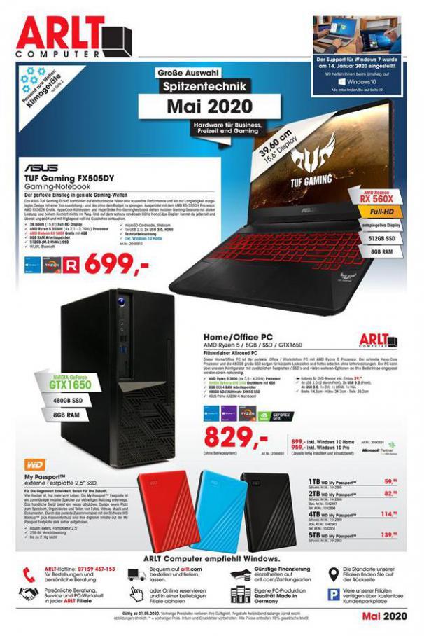 katalog . Arlt (2020-05-31-2020-05-31)