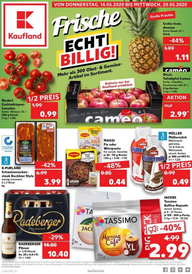 Angebote Kaufland . Kaufland (2020-05-20-2020-05-20)