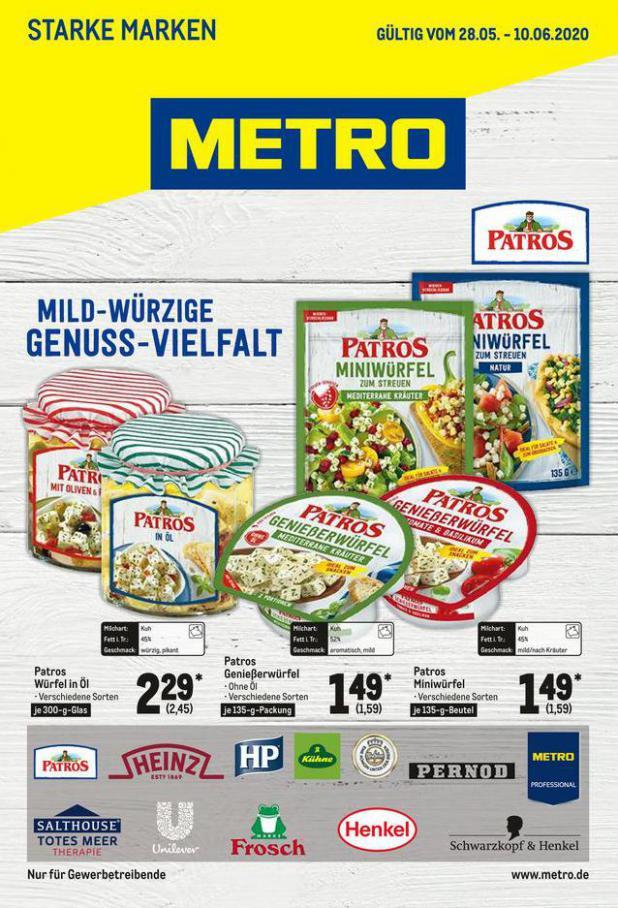 Starke Marken . Metro (2020-06-10-2020-06-10)