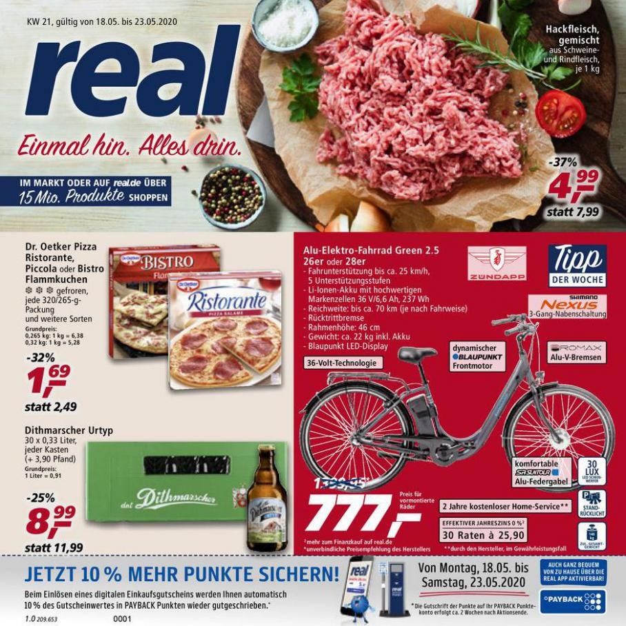 Prospekt Woche 21 . real (2020-05-23-2020-05-23)
