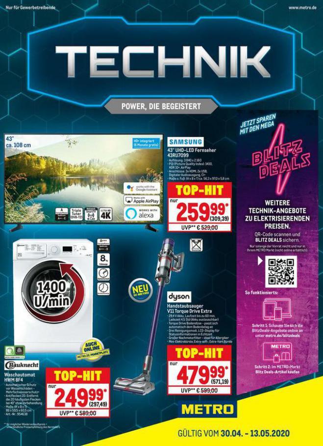 Technik . Metro (2020-05-13-2020-05-13)