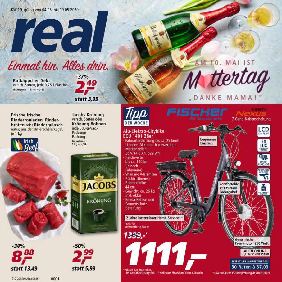 Prospekt Woche 19 . real (2020-05-09-2020-05-09)