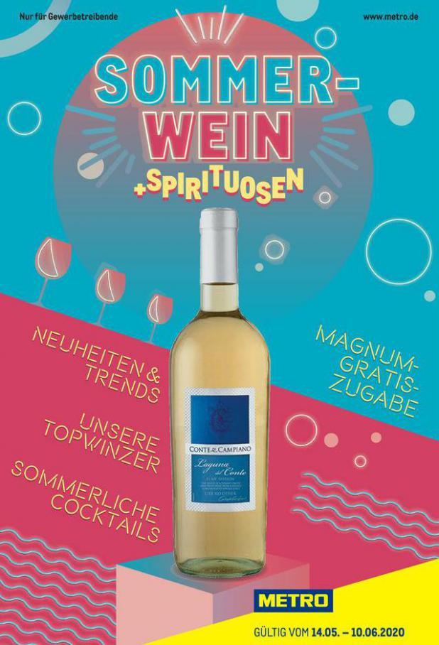 Sommerwein . Metro (2020-06-10-2020-06-10)