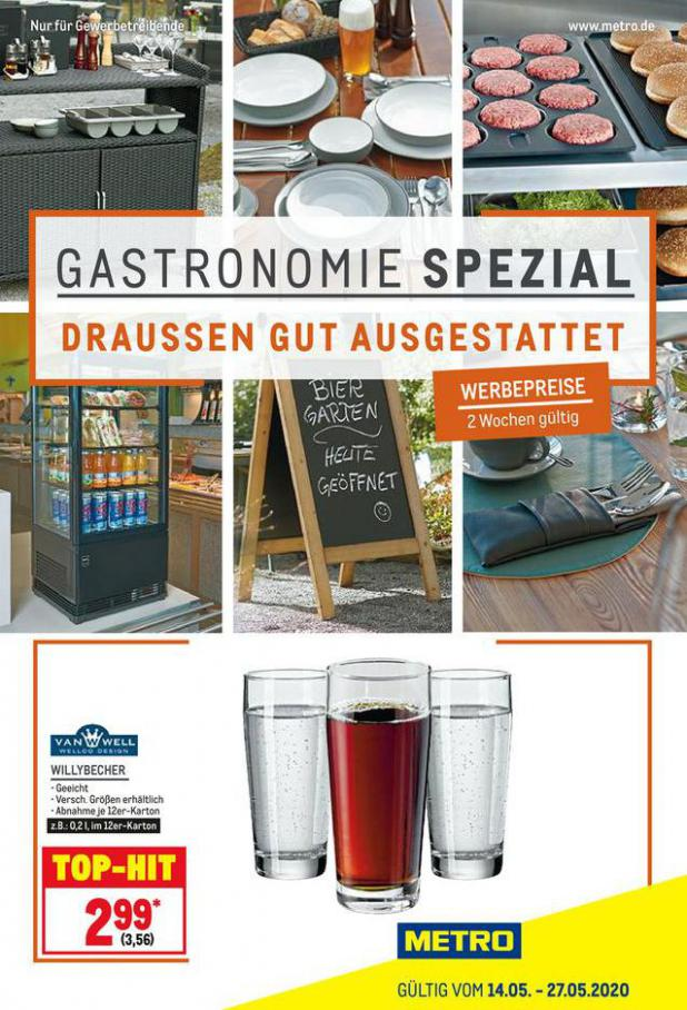 Gastro Spezial . Metro (2020-05-27-2020-05-27)