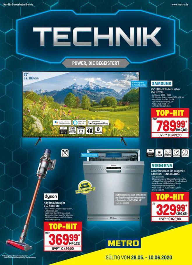 Technik . Metro (2020-06-10-2020-06-10)