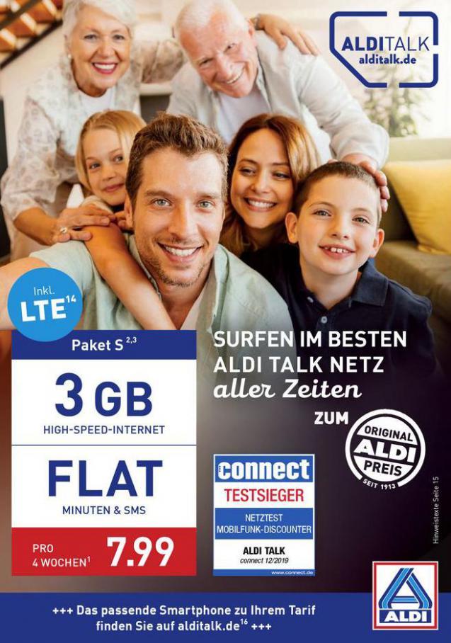 ALDI Talk . Aldi Nord (2020-05-31-2020-05-31)