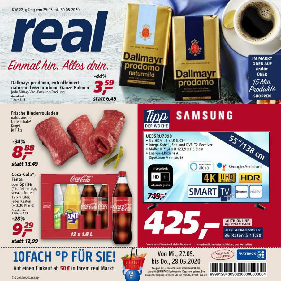 Prospekt Woche 22 . real (2020-05-30-2020-05-30)