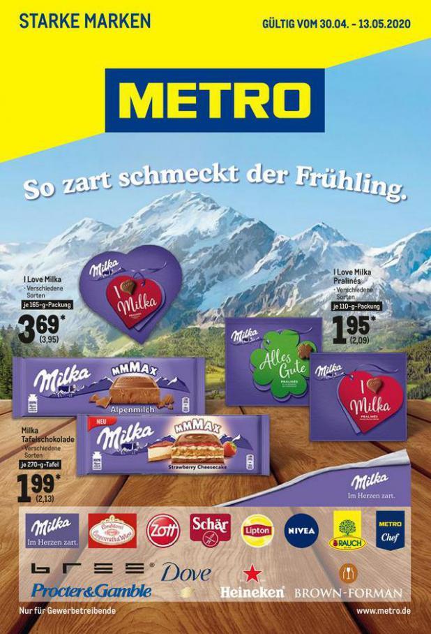 Starke Marken . Metro (2020-05-13-2020-05-13)
