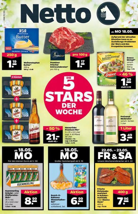 Angebote der Woche . Netto (2020-05-23-2020-05-23)