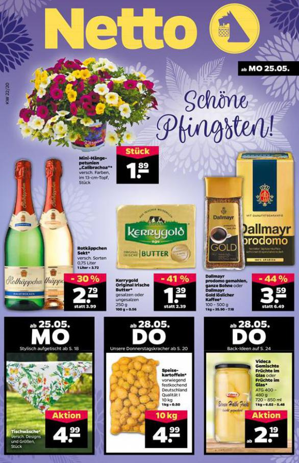 Schöne Pfingsten! . Netto (2020-05-30-2020-05-30)