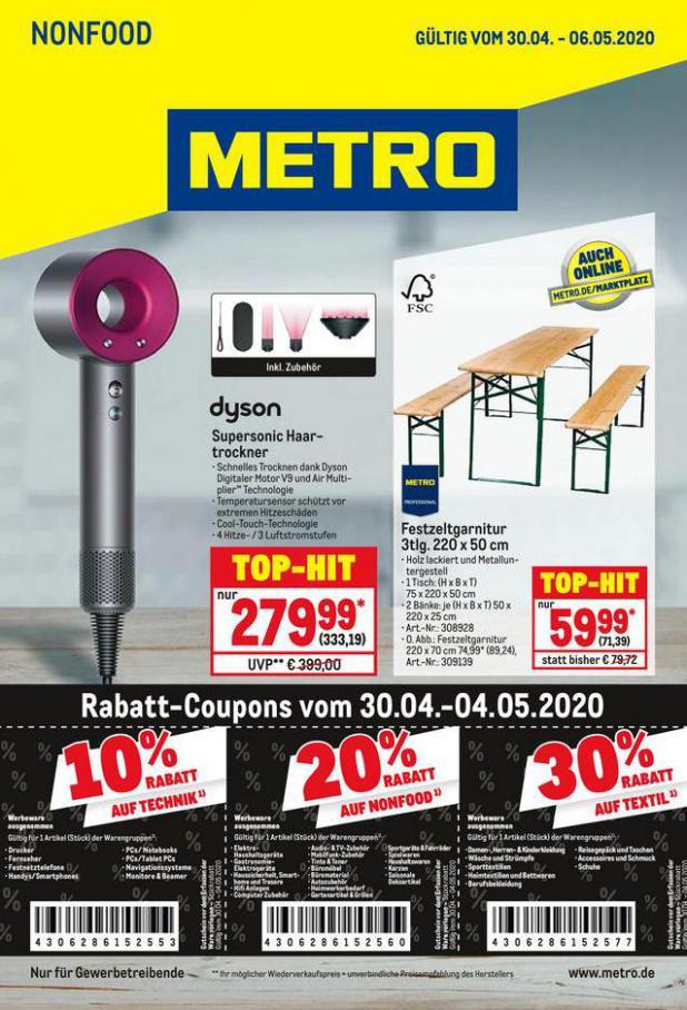 NonFood . Metro (2020-05-13-2020-05-13)