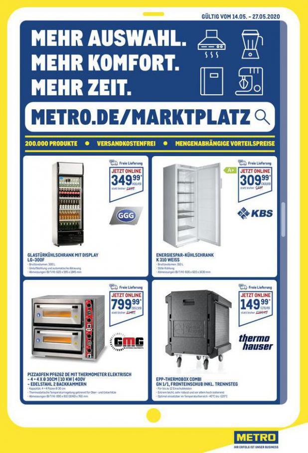 Online-Profi-Angebote . Metro (2020-05-27-2020-05-27)