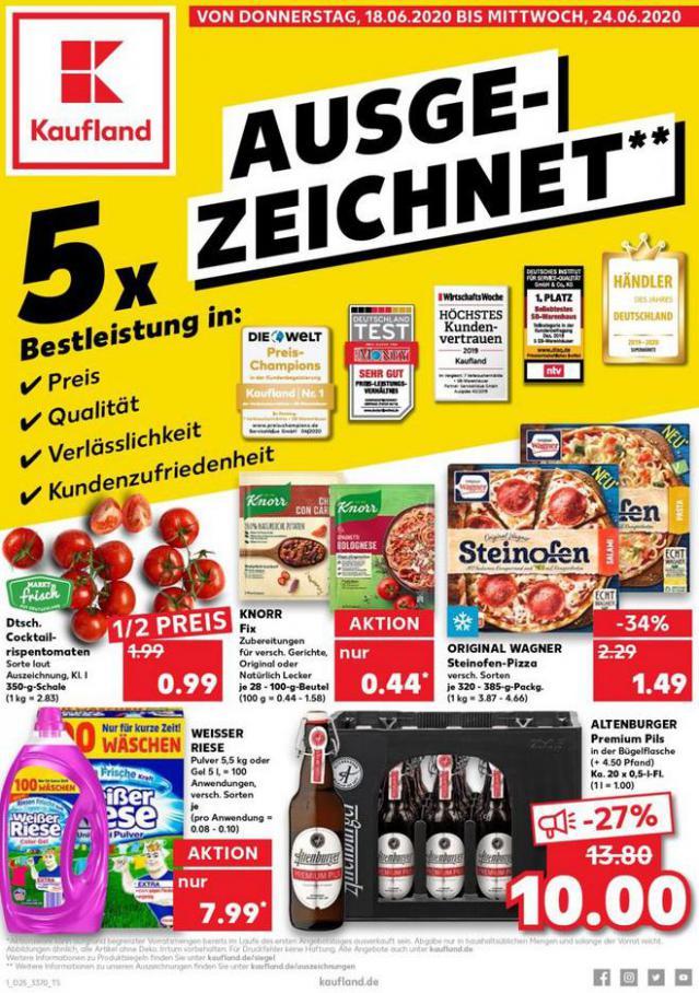 Angebote Kaufland . Kaufland (2020-06-24-2020-06-24)