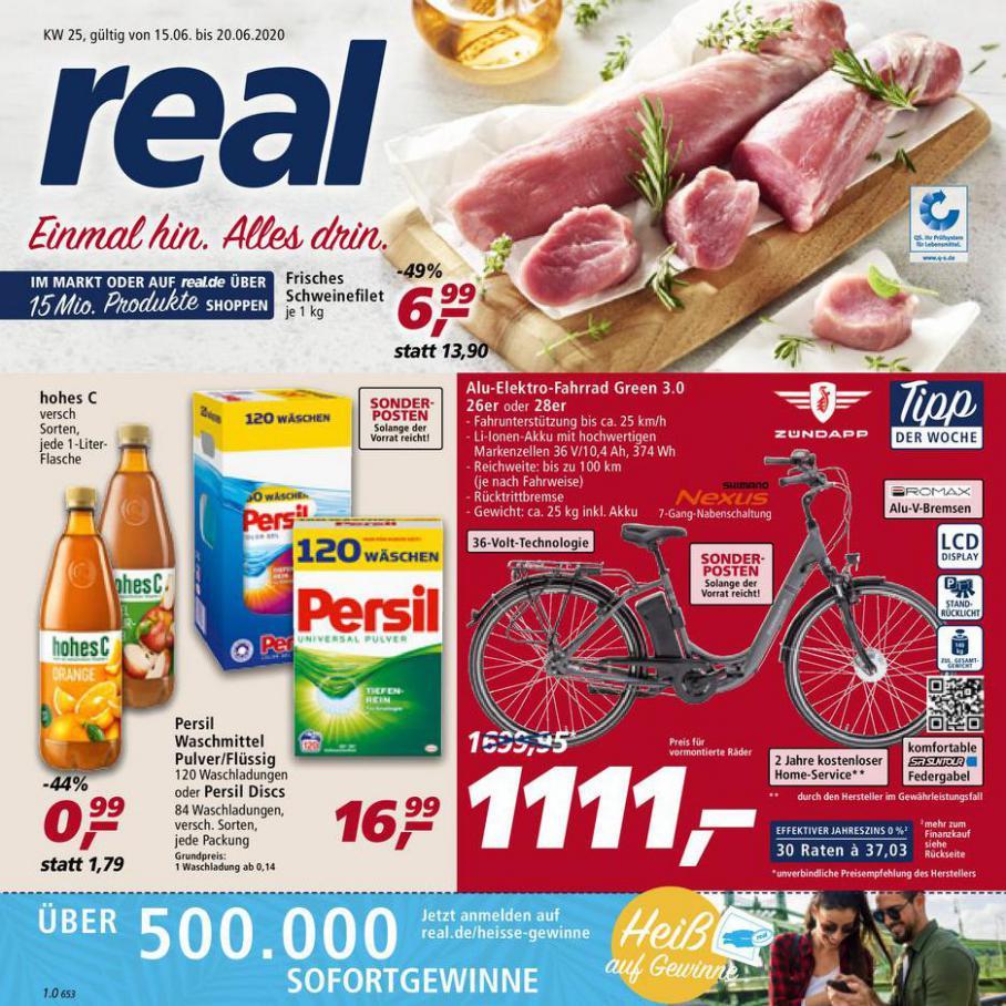 Prospekt Woche 25 . real (2020-06-20-2020-06-20)