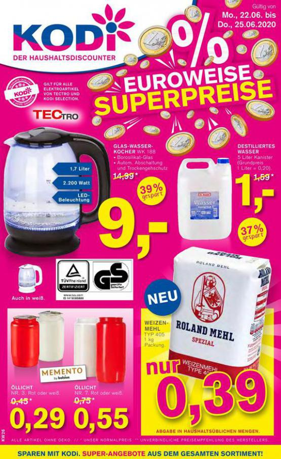 EUROWEISE SUPERPREISE . KODi (2020-06-25-2020-06-25)