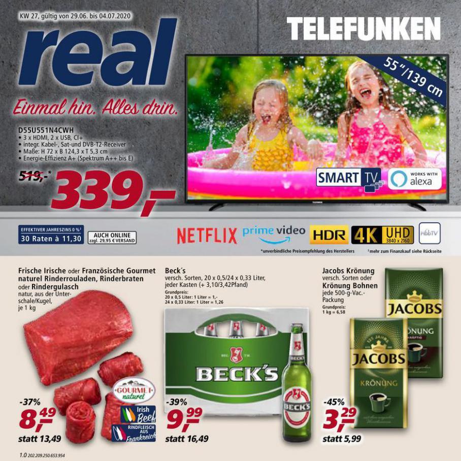 Prospekt Woche 27 . real (2020-07-04-2020-07-04)
