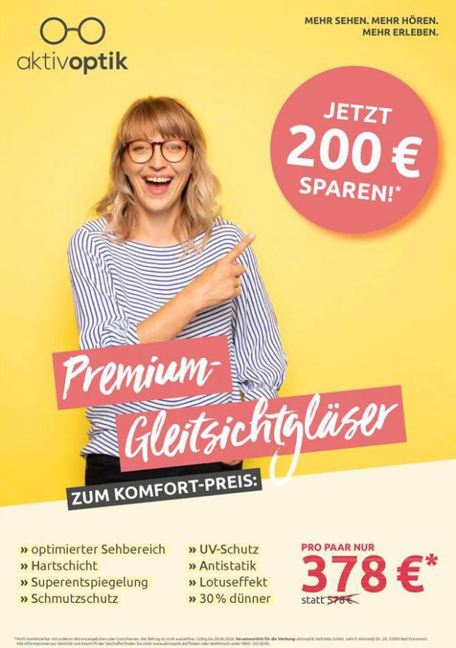 Premium-Gleitsichtgläser . Aktiv Optik (2020-06-20-2020-06-20)