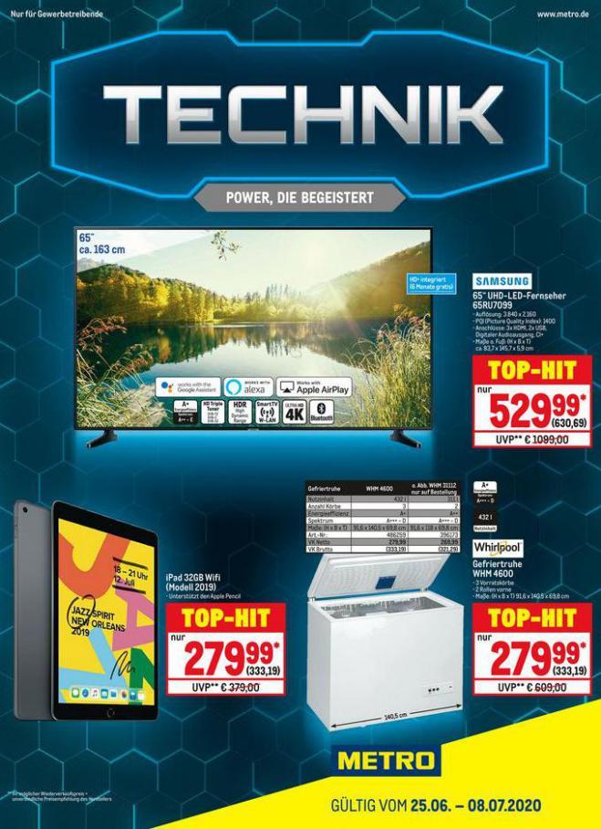 Technik . Metro (2020-07-08-2020-07-08)
