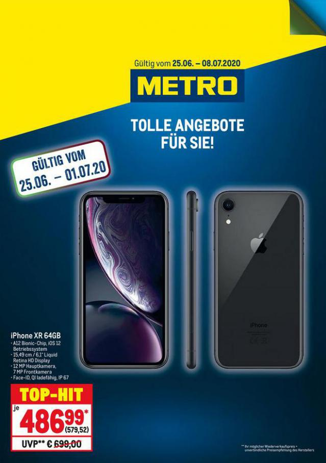 Knallerpreis iPhone XR . Metro (2020-07-01-2020-07-01)