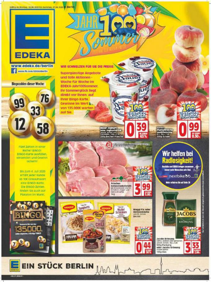 Edeka flugblatt . EDEKA (2020-06-27-2020-06-27)