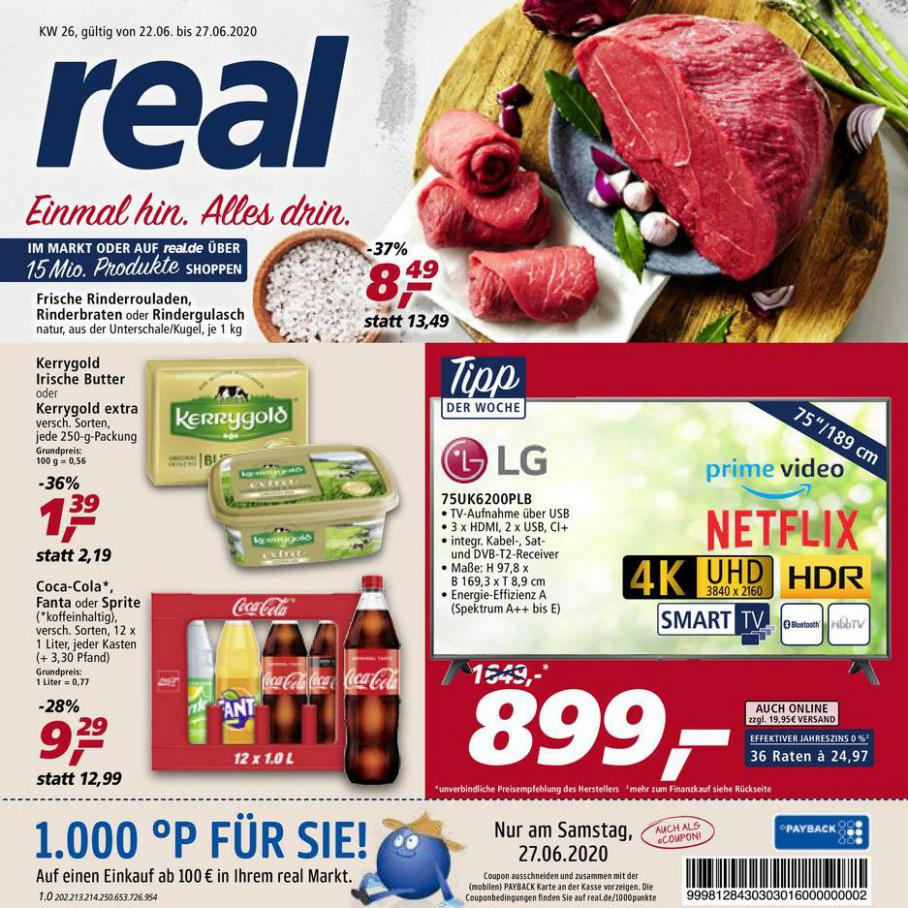 Prospekt Woche 26 . real (2020-06-27-2020-06-27)