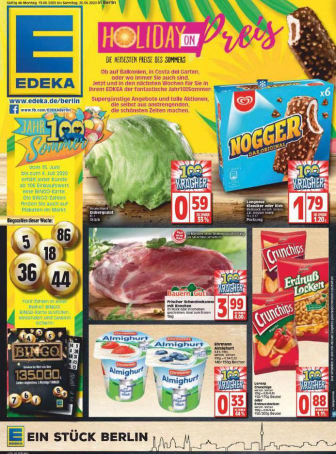 Edeka flugblatt . EDEKA (2020-06-20-2020-06-20)