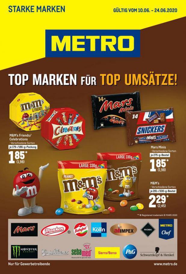 Starke Marken . Metro (2020-06-24-2020-06-24)