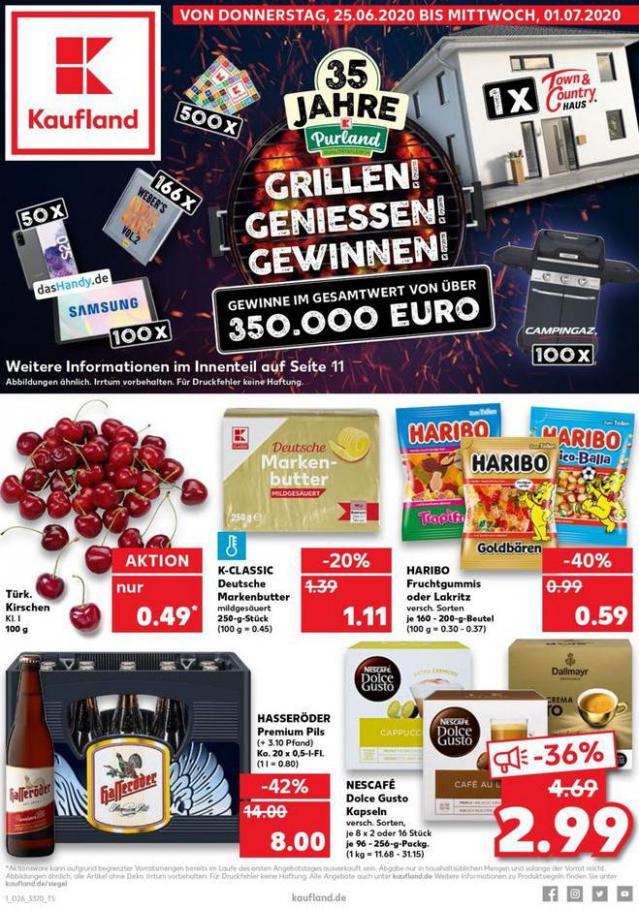 Angebote Kaufland . Kaufland (2020-07-01-2020-07-01)