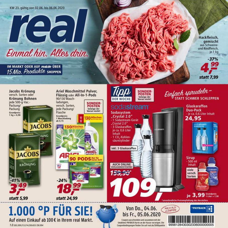 Prospekt Woche 23 . real (2020-06-06-2020-06-06)