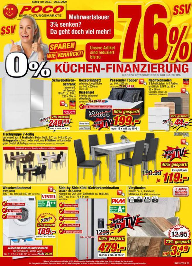 0% Küchen-Finanzierung . Poco (2020-07-29-2020-07-29)