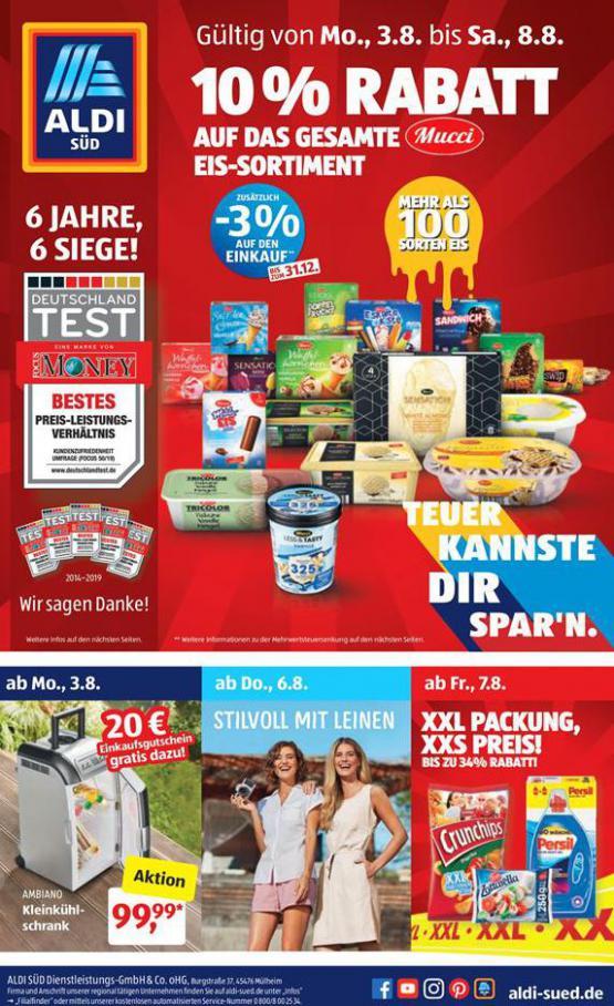 10% Rabatt . Aldi Süd (2020-08-08-2020-08-08)