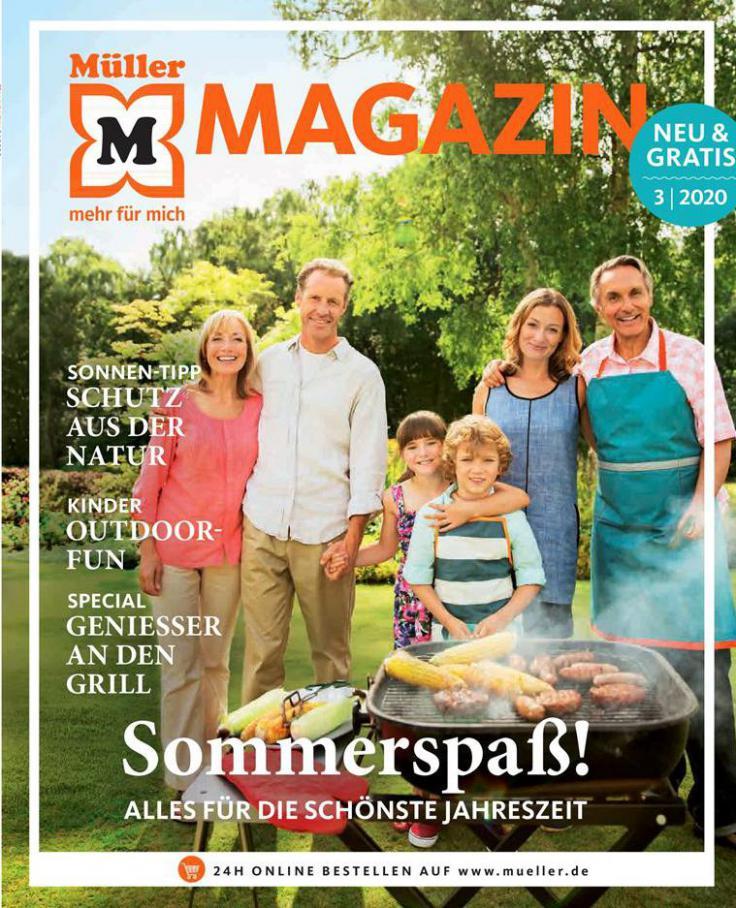 Magazin . Müller (2020-08-31-2020-08-31)