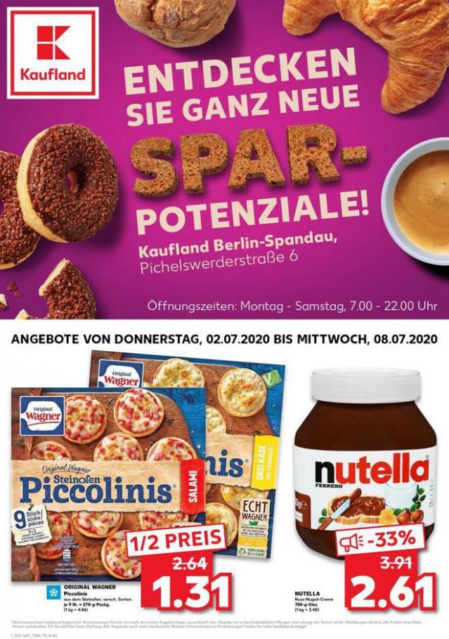 Angebote Kaufland . Kaufland (2020-07-08-2020-07-08)