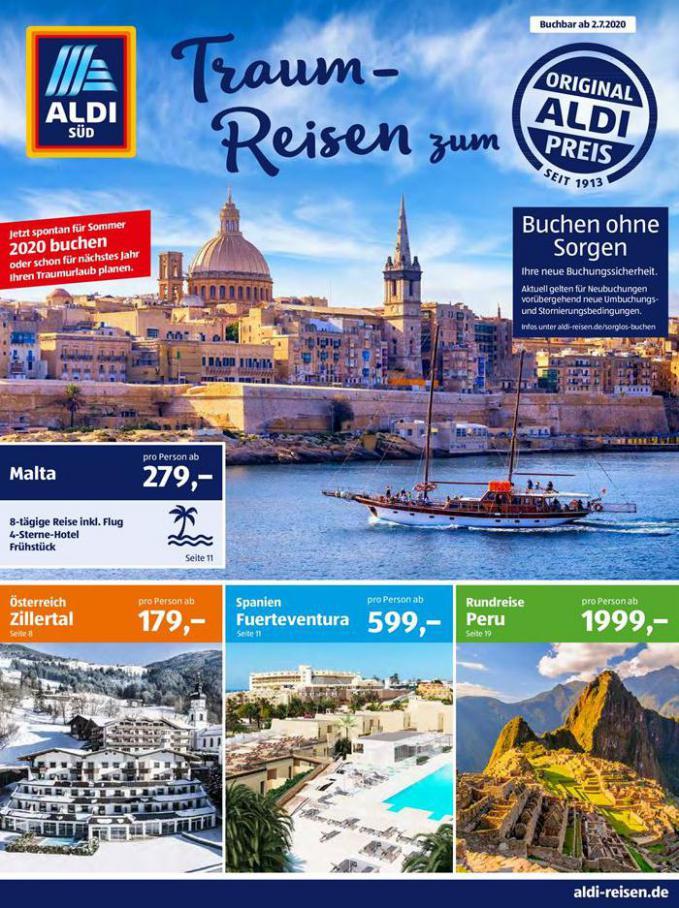 Traum-Reisen  . Aldi Süd (2020-07-31-2020-07-31)