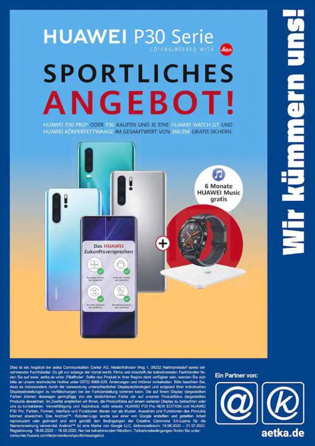 Sportliches Angebot! . aetka (2020-07-31-2020-07-31)